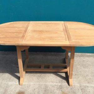 Teak Oval Extension Table 1.8 m