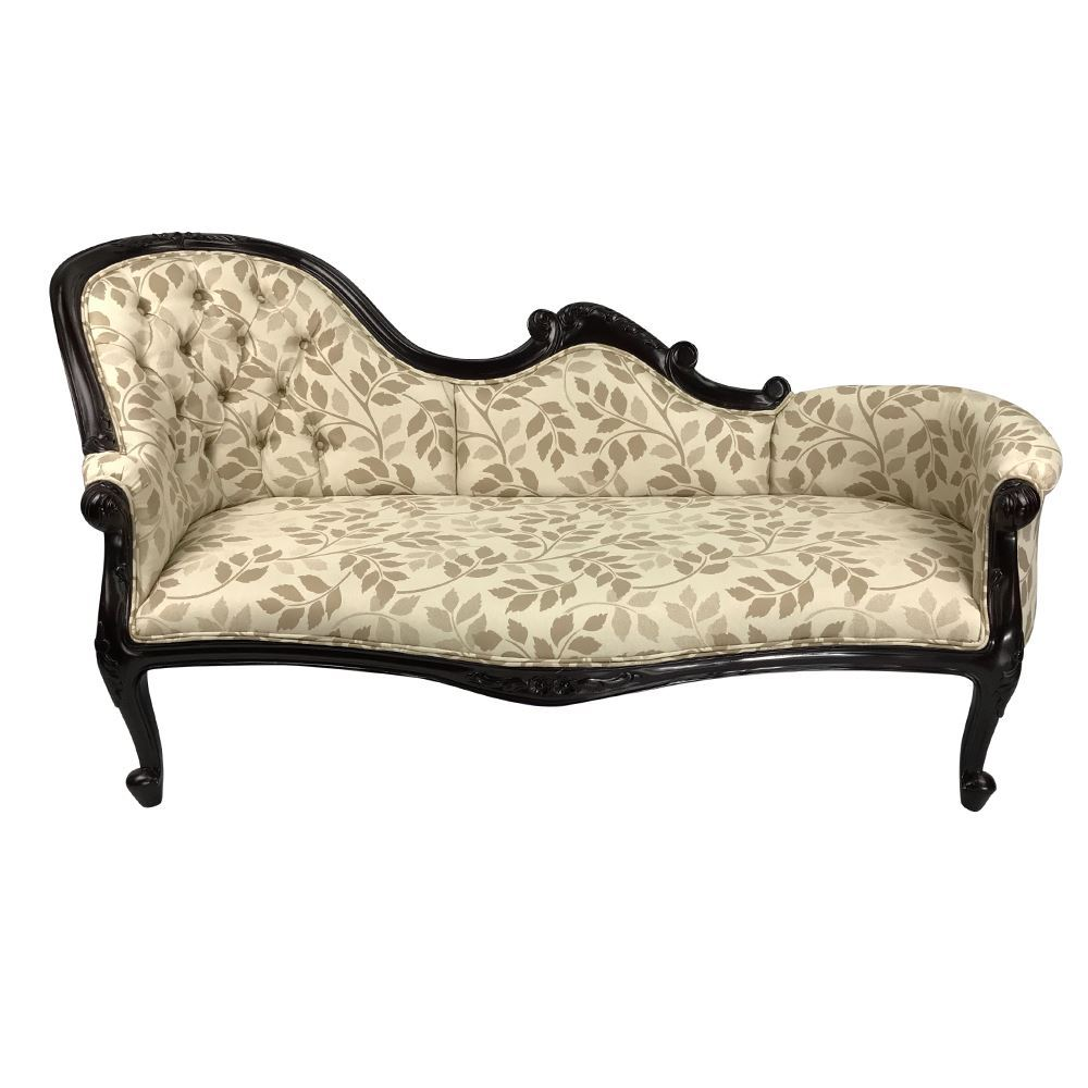 Swell Solid Mahogany Wood French Chaise Lounge Love Seat Sofa Lamtechconsult Wood Chair Design Ideas Lamtechconsultcom
