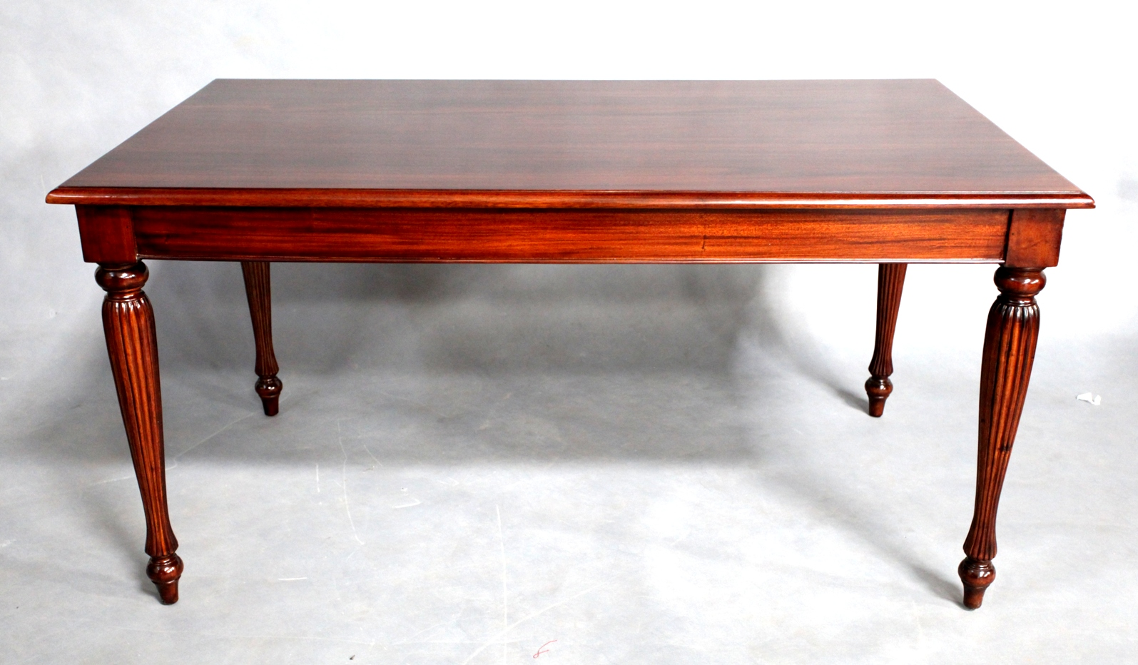 Solid Mahogany Wood Regency Rectangular Dining Table Antique Style Turendav Australia Antique Reproduction Furniture