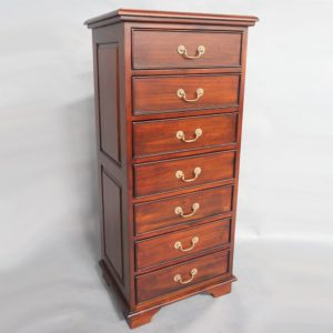 Placeholder Mahogany Wood James Hi-Chest Tall Boy