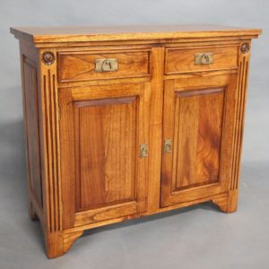 Solid Mahogany Wood 2 Door Buffet
